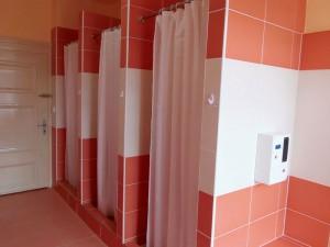 Sociální zařízení - sprchy